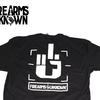 Firearms Unknown FU Middle Finger Logo T-Shirt Black