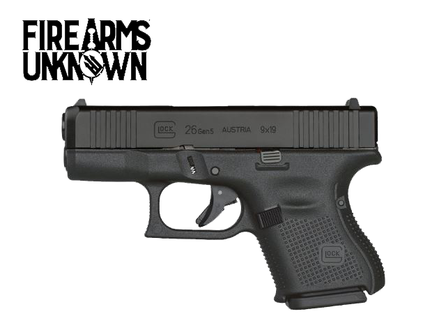 GLOCK G26 GEN 5 9mm, 10RD Pistol
