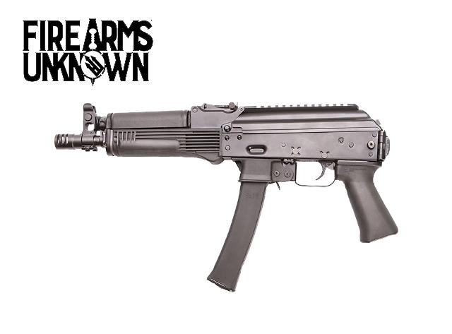 "Kalashnikov USA KP-9 9mm Luger AK Style Semi Auto Pistol 9.25"" 30 RDS"