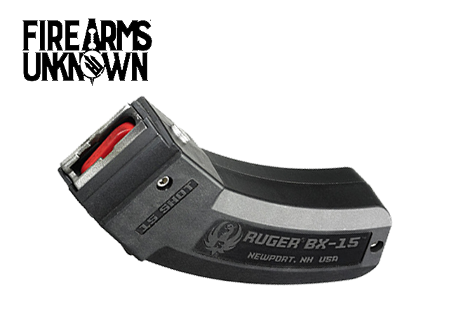 Ruger BX-15 22 LR , Magazine 10/22, SR-22 ,77/22 15rd Black Detachable