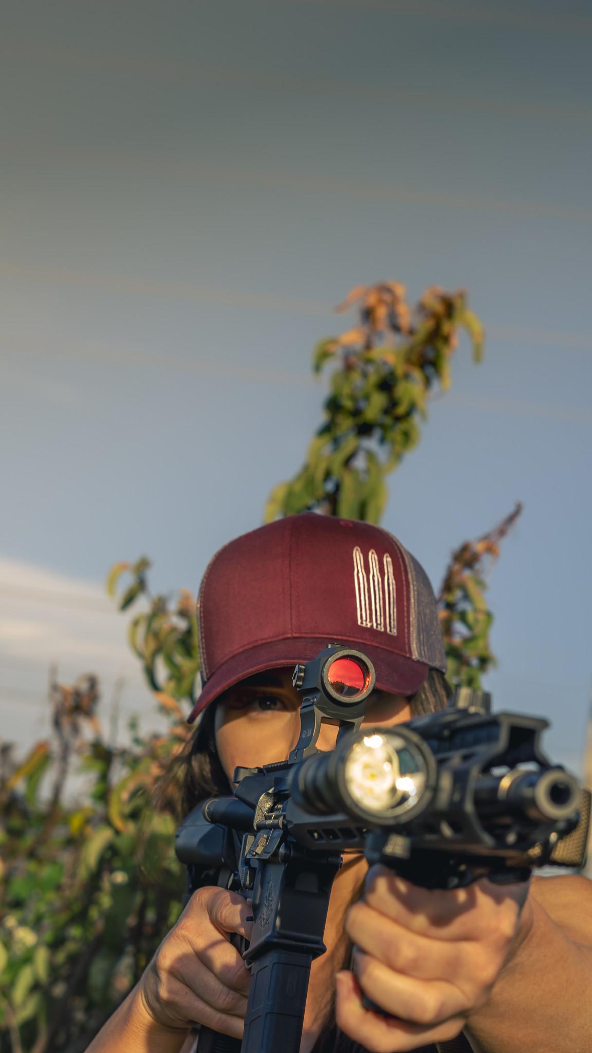 Three Bullet SnapBack Hat