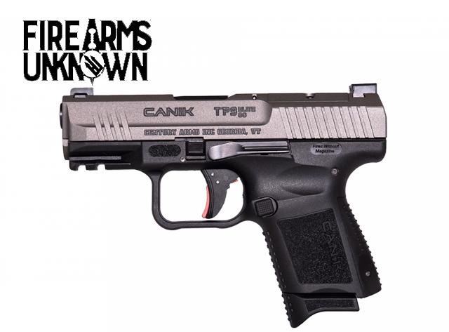 "CANIK, TP9 Elite SC , 9mm , 3.6"" Barrel , Tungsten ,  15 Rds"