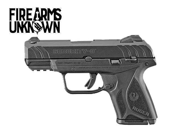 "Ruger, Security-9 , Centerfire Pistol , 9MM , 3.42"" Barrel , 10 Rds"