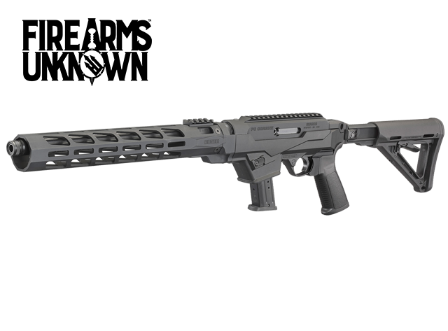 """Ruger, PC Carbine, Semi-automatic Rifle, 9MM, 16.12"""" CHF Barrel, Threaded and Fluted"""