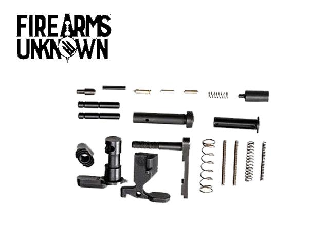 RISE Armament AR-15 Lower Parts Kit w/No Trigger Black