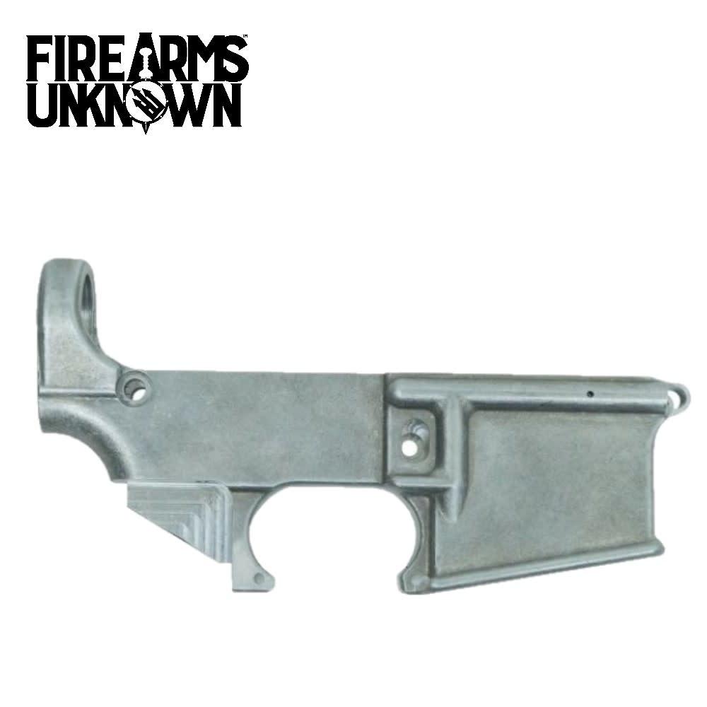 House AR15 Forged 80% Lower Raw (BLEM)