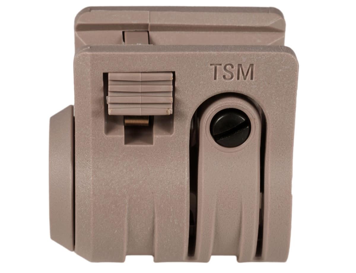 """MFT Torch Standard Flashlight Mount 1"""" QD FDE"""