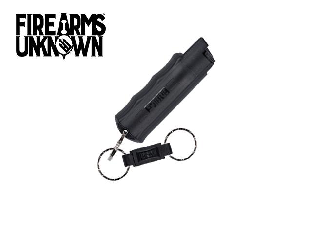 SABRE .54oz Hardcase Black w/Keychain