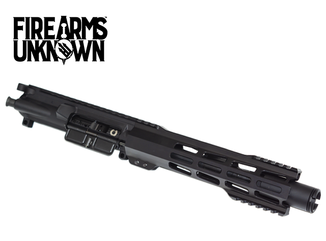 "The Proximity, Pistol Length Upper, 7.5""  5.56, Black Nitride M16  BCG, Blitzkrieg Gestalt M-Lok 9"" Rail"