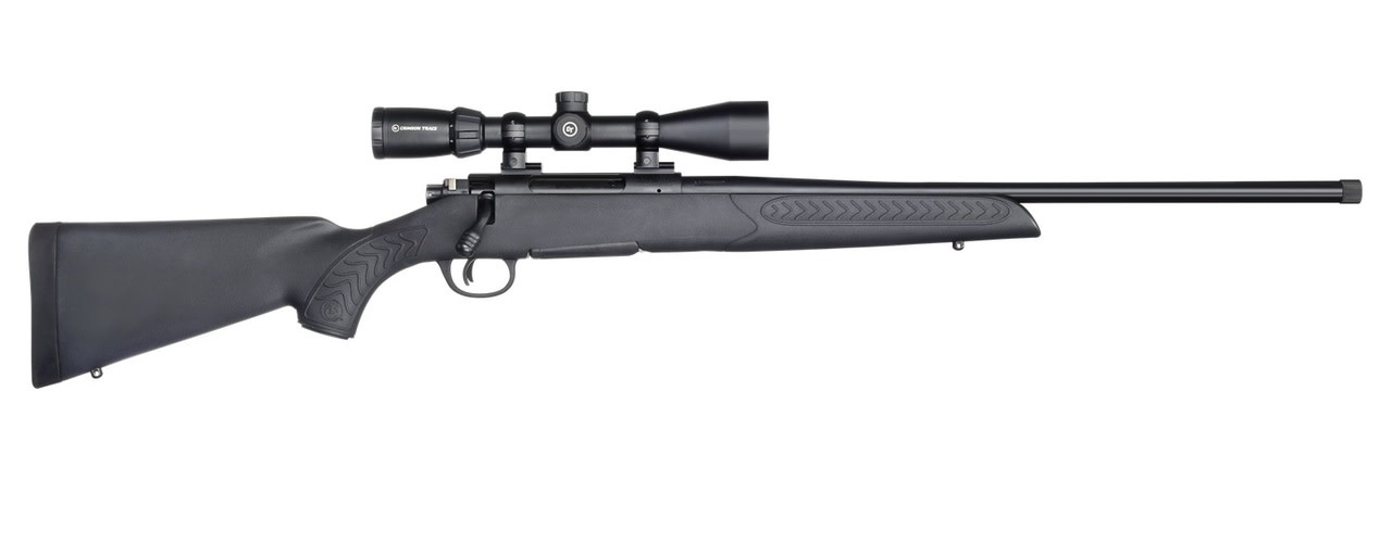 Thompson/Center TC COMPASS II COMBO Rifle 243 win, Black Blued Right Hand Crimson Trace Scope