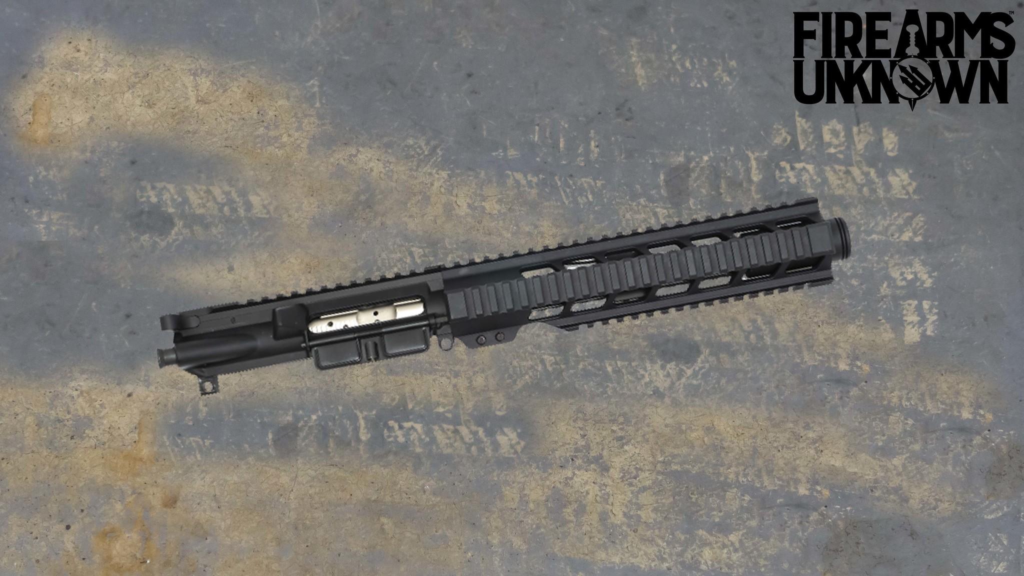 "FU ""Stubby"" Complete Upper 8"" 5.56, NIB Bolt, 4150v Black Nitride, Upper"