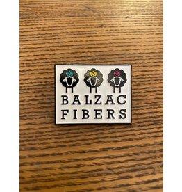 Balzac enamel pin