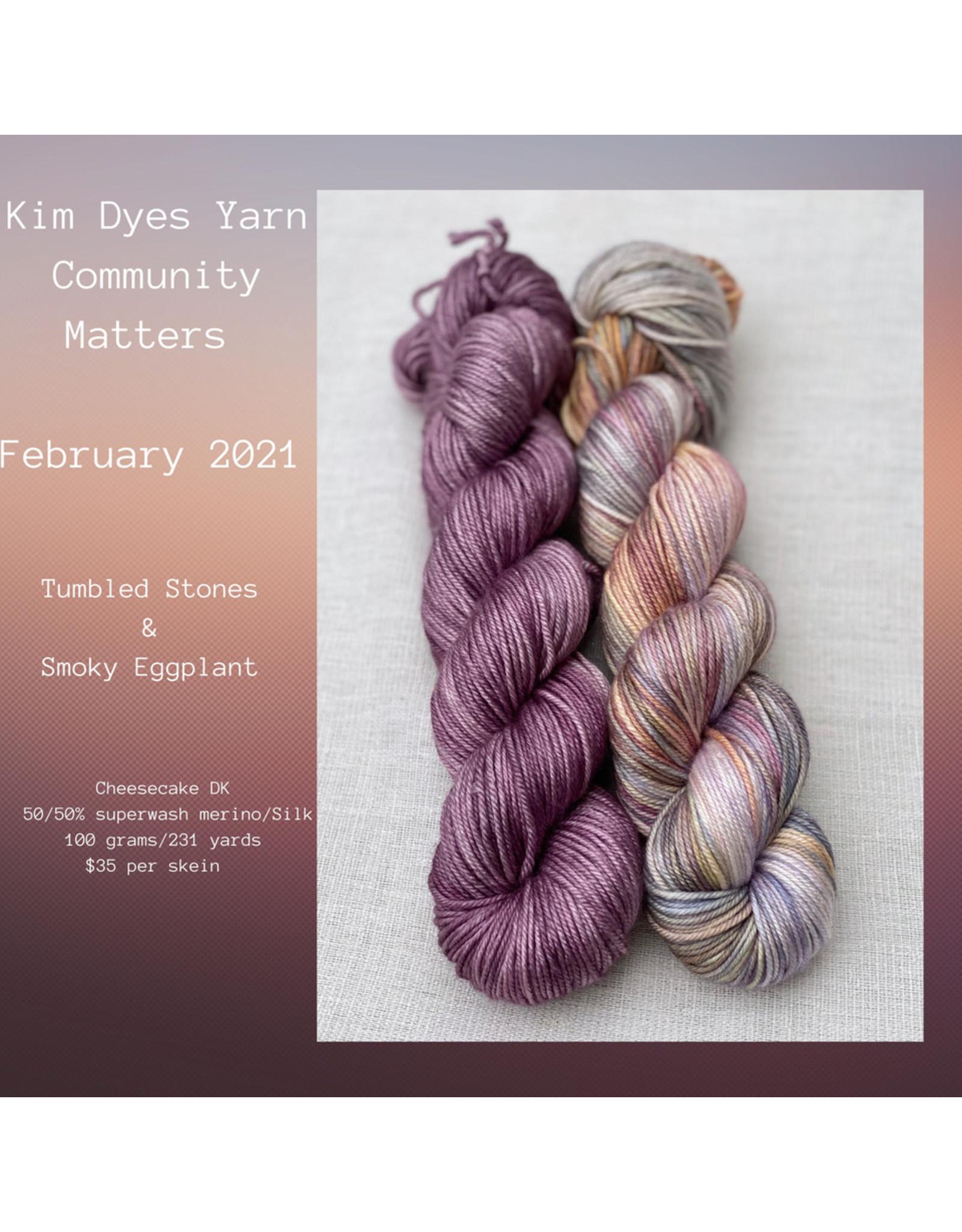 Kim Dyes Yarns Cheesecake DK