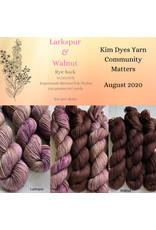 Kim Dyes Yarns Rye Sock