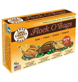 TRULIB True Liberty Flock O'Bags (2-Turkey, 2-Goose, 2-Chicken, & 10-Quail) (16/Box)