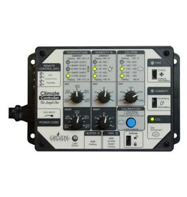 GROZONE Grozone Control SCC1 Temperature, Humidity, & CO2 Controller - Simple One Series
