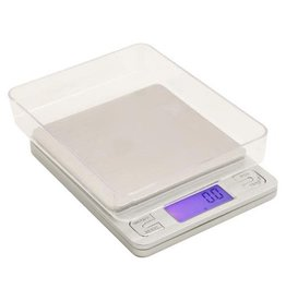 MEAMAS Measure Master 3000g Digital Table Top Scale w/ Tray 3000g Capacity x 0.1g Accuracy