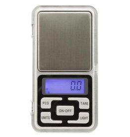 MEAMAS Measure Master 500g Digital Pocket Scale - 500g Capacity x 0.1g Accuracy