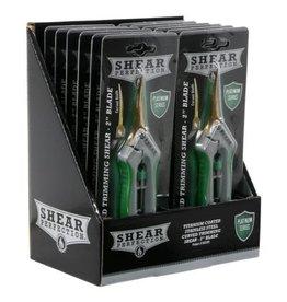 SHEAR Shear Perfection Platinum Titanium Trimming Shear - 2 in Curved Blades (12/Cs)
