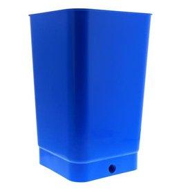 FLO N GR Flo-n-Gro Bottom Drain Blue Bucket - 4 Gallon (24/Cs)