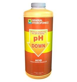 GEN HYD GH pH Down Liquid
