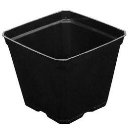 GROPRO Gro Pro Black Plastic Pot