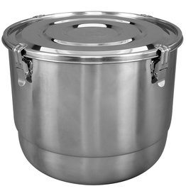 Harvest Keeper HumiGuard Clamp Sealing Stainless Containers - 17 L