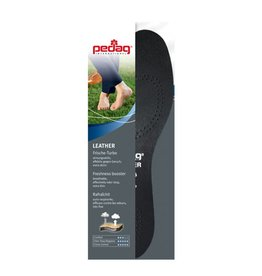 LEATHER- Black insoles with carbon filter