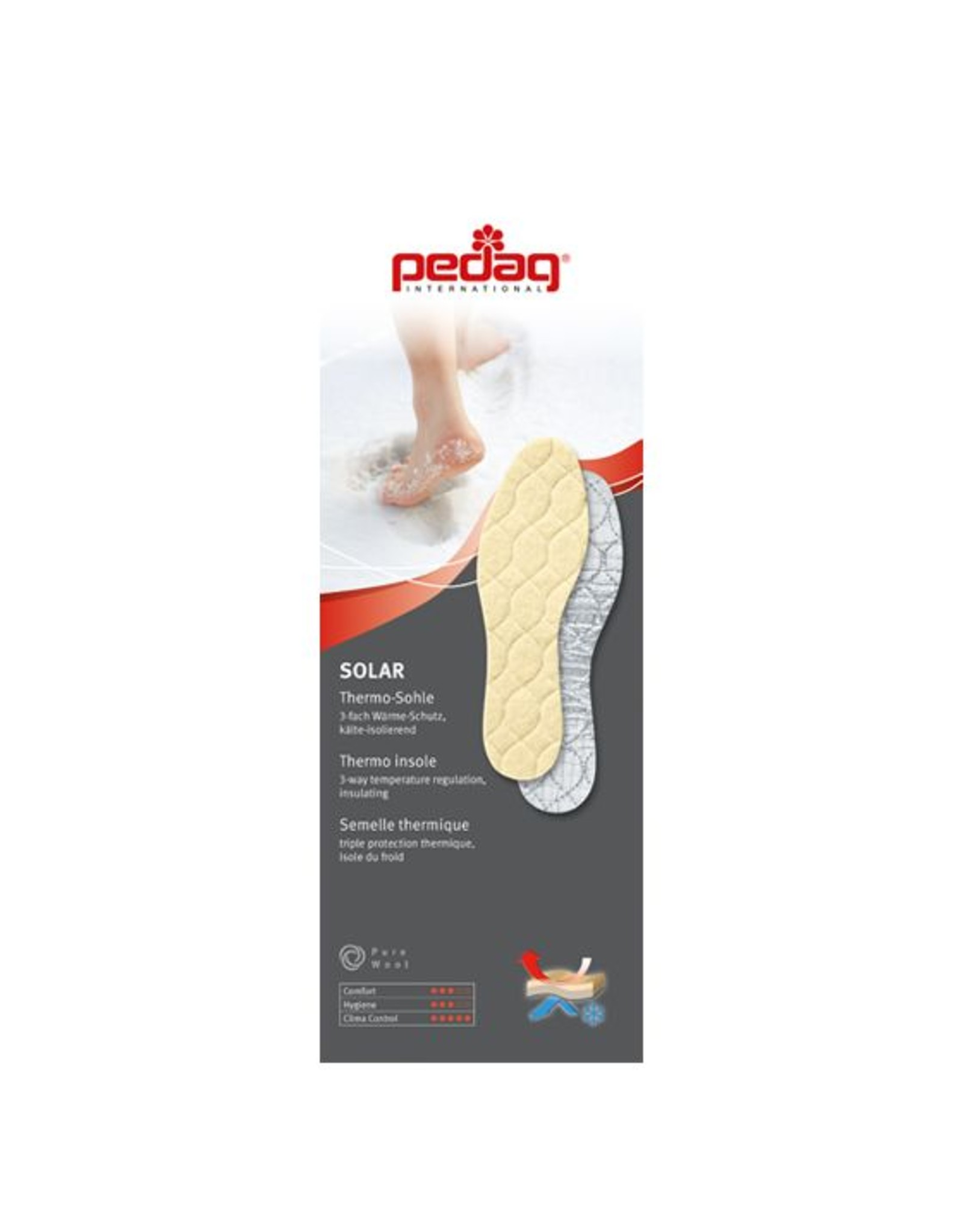 SOLAR - kid's thermo insoles