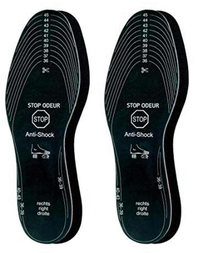 STOP ODOR insole - get rid of shoes bad odors