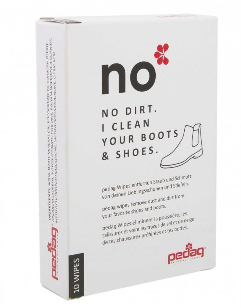 NO- shoe cleaning wipes