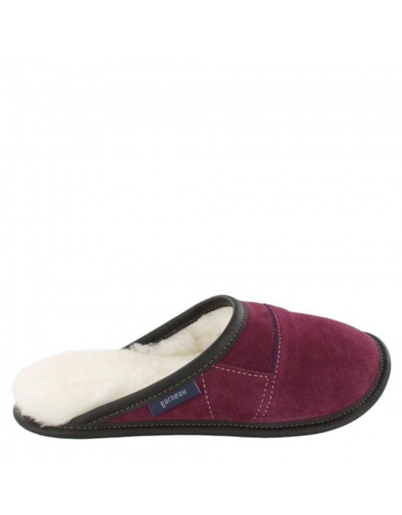 Suede slip-on slippers for women - Made in Quebec