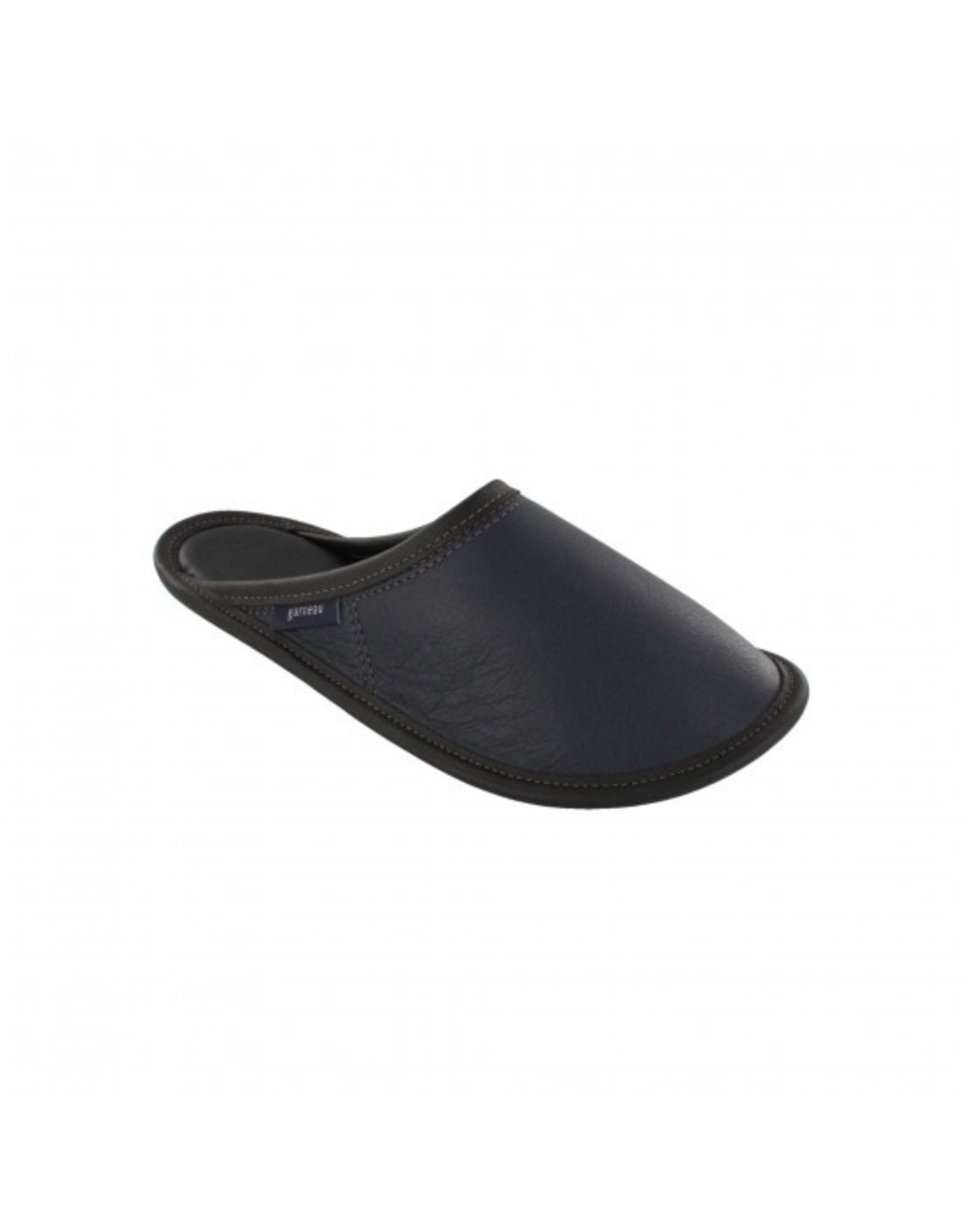 All-leather mule slippers - Made in Quebec