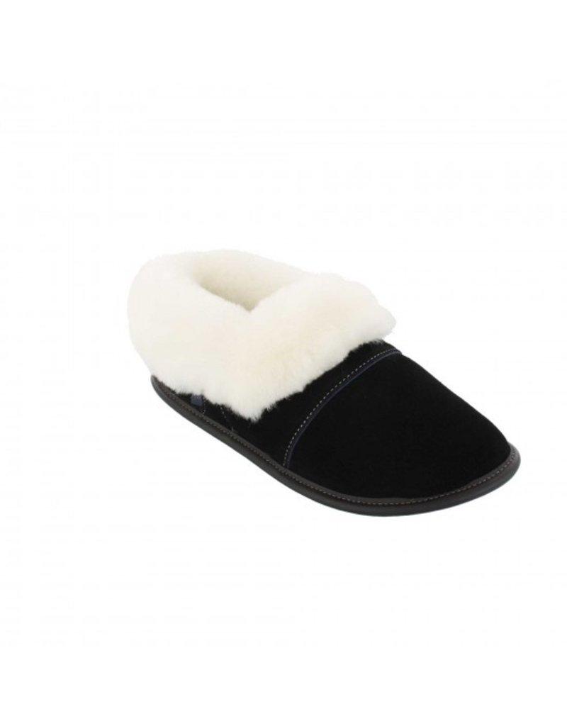 Women's suede slippers - Made in Québec