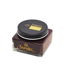 Saphir's cordovan cream shoe polish