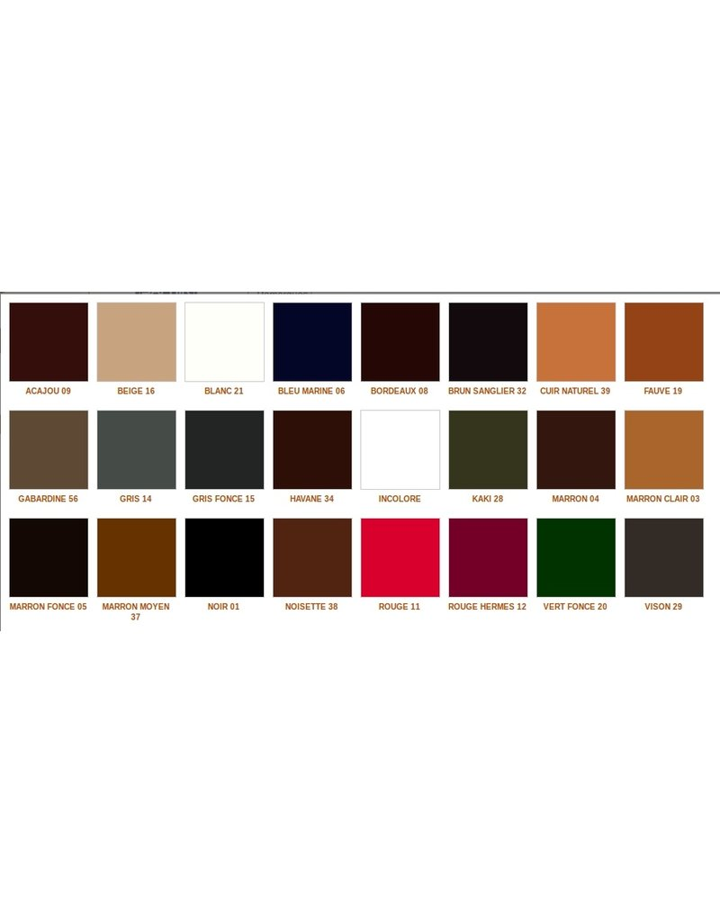 Saphir's juvacuir - to recolor smooth leather