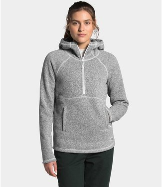 THE NORTH FACE W'S CRESCENT HOODED PULLOVER