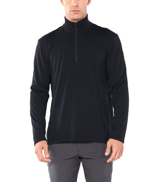 ICE BREAKER M'S ORIGINAL LS HALF ZIP