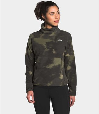 THE NORTH FACE W'S TKA GLACIER FUNNEL-NECK PULLOVER