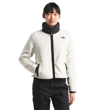 THE NORTH FACE W'S DUNRAVEN SHERPA CROP JACKET