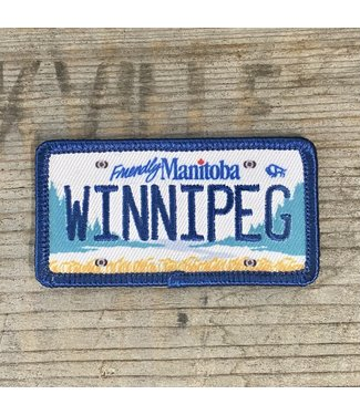LICENSE PLATE PATCH