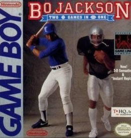 GameBoy Bo Jackson Hit and Run (Cart Only)