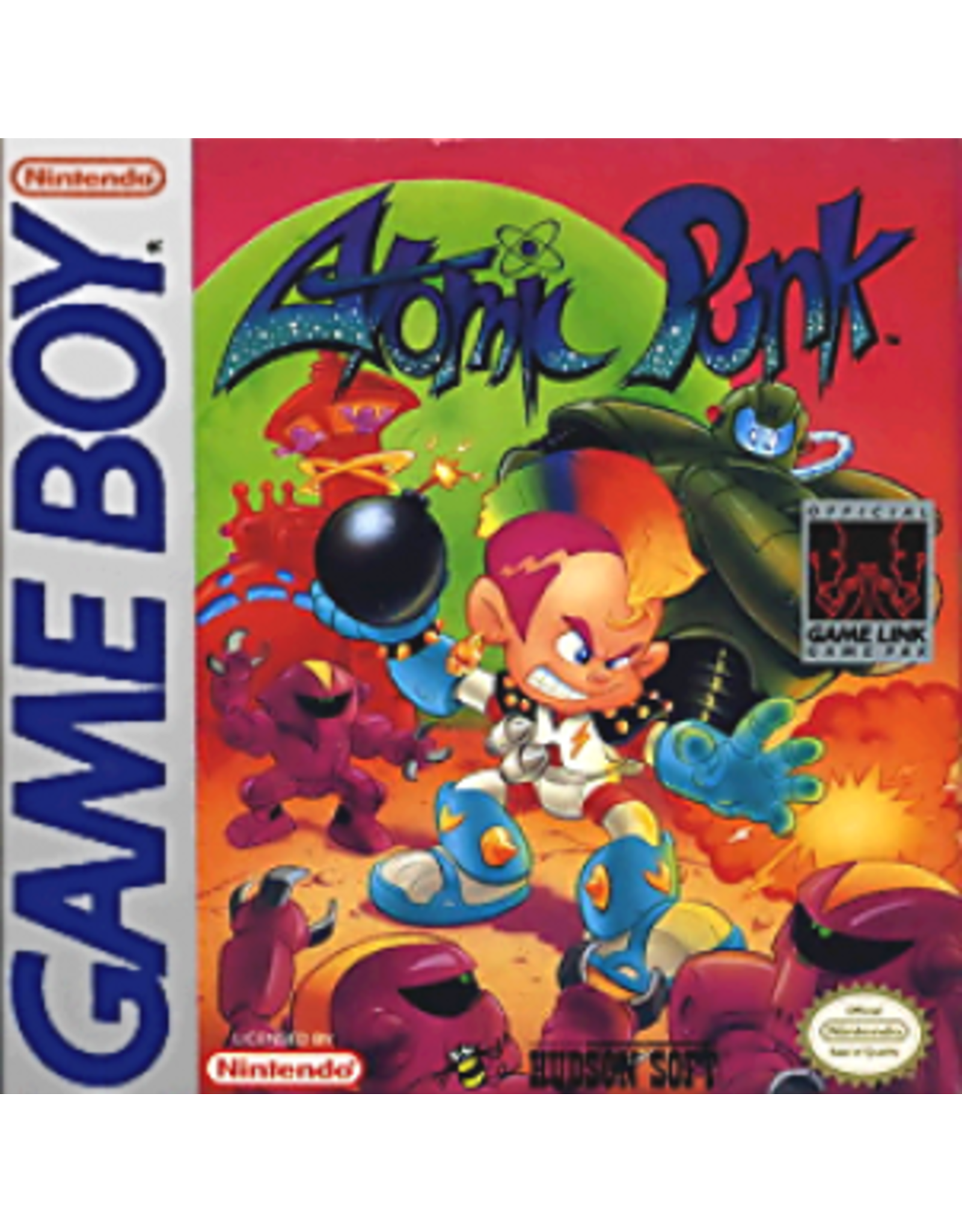 GameBoy Atomic Punk (Cart Only)