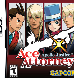 Nintendo DS Ace Attorney Apollo Justice (CIB)