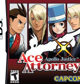 Nintendo DS Ace Attorney Apollo Justice