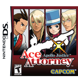 Nintendo DS Ace Attorney Apollo Justice (CiB)