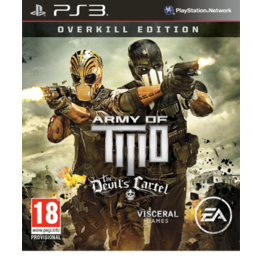 Playstation 3 Army of Two: The Devil's Cartel Overkill Edition (NO DLC)