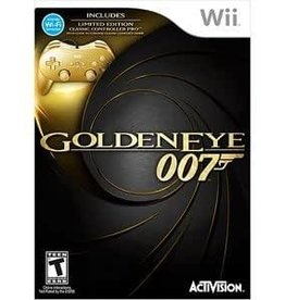 Wii 007 GoldenEye with Gold Controller (BRAND NEW)