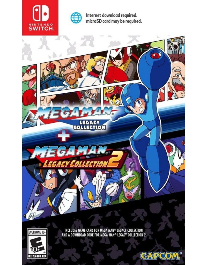Nintendo Switch Mega Man Legacy Collection (USED Part 1 Only)