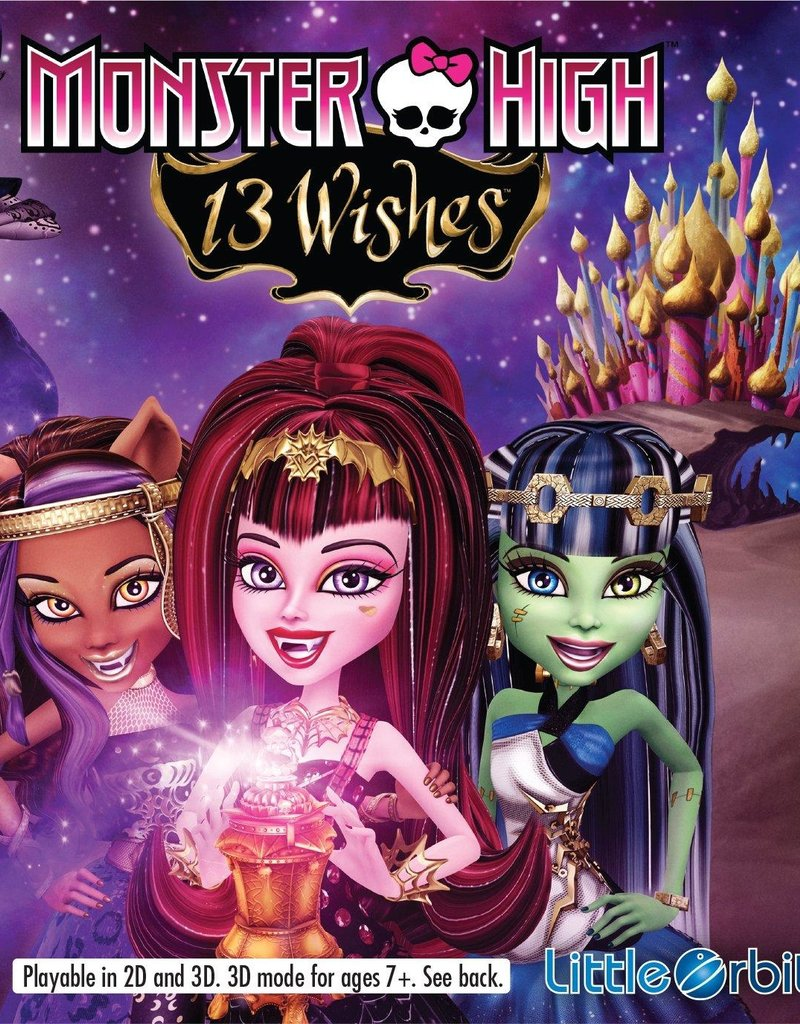 Nintendo 3DS Monster High: 13 Wishes